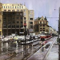 M. Krupickova, I.P.Pavlova in Prague - reserved for the auction