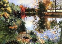 Martina-Krupickova-Landscapes-Autumn-Miscellaneous-Landscapes-Contemporary-Art-Contemporary-Art