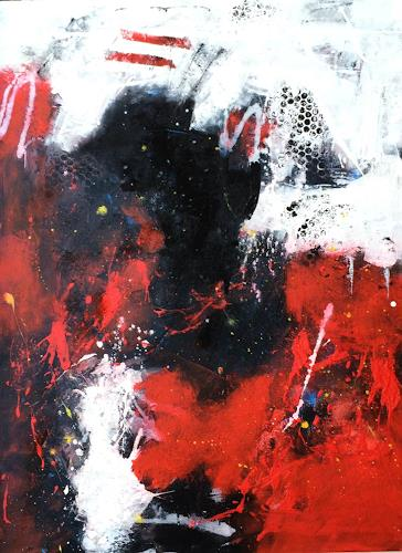 Josef Rabitsch, WVZ 004/2015 -, Abstract art, Fantasy, Abstract Art, Abstract Expressionism