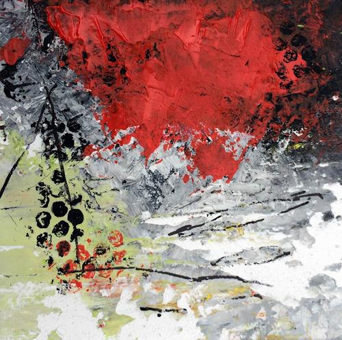 Josef Rabitsch, SERIE 15 x 15 cm/, Abstract art, Fantasy, Modern Age, Abstract Expressionism