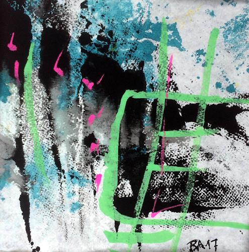 "Josef Rabitsch, WVZ 015/2017 / ""Farb(en)los 02, Abstract art, Fantasy, Abstract Art, Abstract Expressionism"