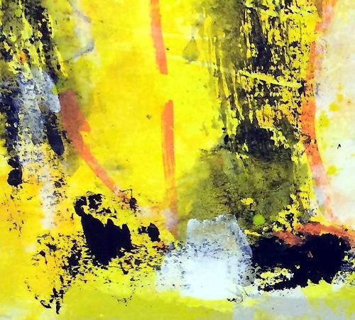 "Josef Rabitsch, WVZ 018/2017 / ""Erinnerung an ..2, Abstract art, Fantasy, Abstract Art, Abstract Expressionism"