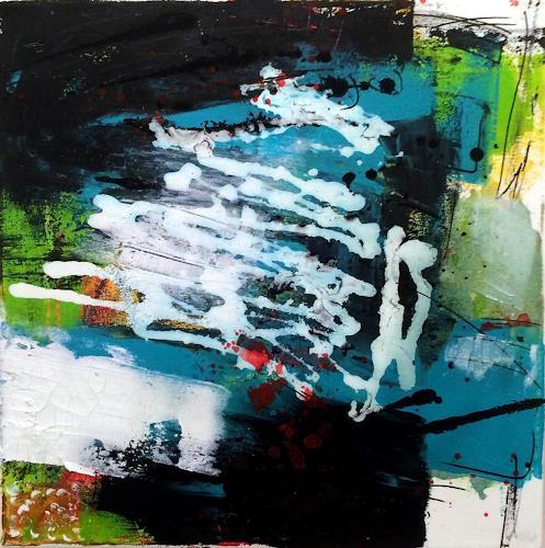 "Josef Rabitsch, 02 Serie ""also dann, Abstract art, Fantasy, Abstract Art"