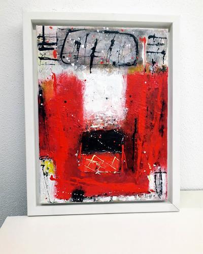 Josef Rabitsch, wie von selbst, Abstract art, Fantasy, Abstract Art