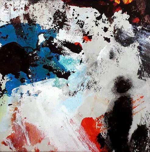 Josef Rabitsch, WVZ 07/2021, Fantasy, Movement, Abstract Art