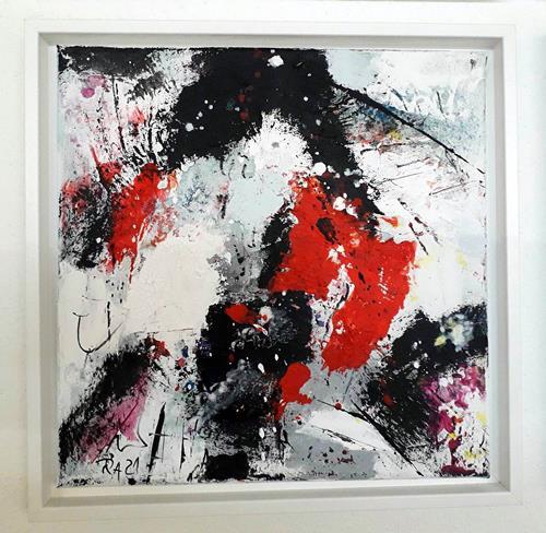 Josef Rabitsch, WVZ 08/2021, Fantasy, Movement, Abstract Art