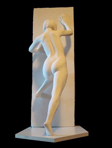 Sime - Mladen Simunovic, hindernis, Erotic motifs: Female nudes, Expressionism