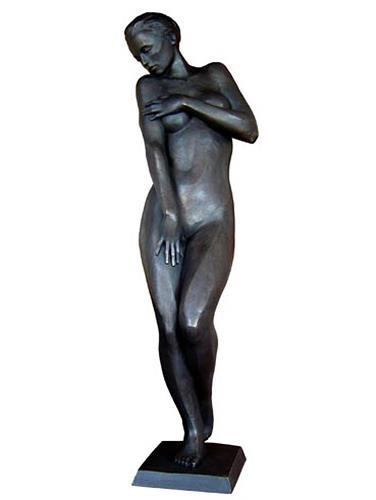 Sime - Mladen Simunovic, Schüchterne, People: Women, Erotic motifs: Female nudes