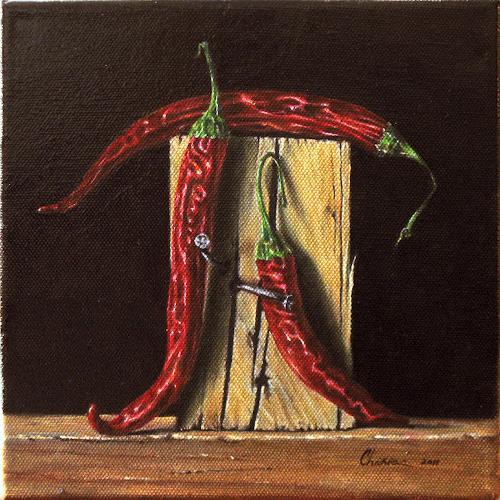 Daniel Chiriac, Hot mathematics, Still life, Symbol, Realism