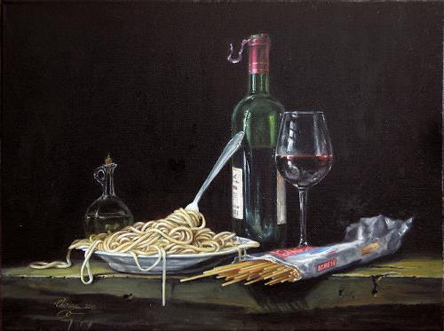 Daniel Chiriac, commissioned painting, Nature: Miscellaneous, Still life