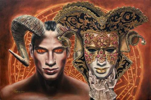 Daniel Chiriac, ET IN ARCADIA EGO, Symbol, Belief, Surrealism, Abstract Expressionism