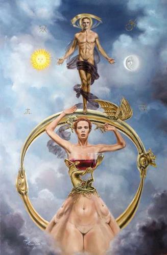 Daniel Chiriac, ROSARIUM PHILOSOFORUM, Symbol, Mythology, Symbolism