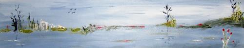 Astrid Strahm, das Moor, Landscapes: Sea/Ocean, Contemporary Art