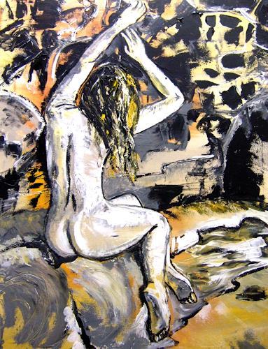 Astrid Strahm, Candance, Erotic motifs: Female nudes, Miscellaneous Landscapes, Contemporary Art