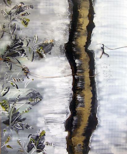 Astrid Strahm, Goldene Zeiten IV, Emotions: Depression, Decorative Art, Contemporary Art
