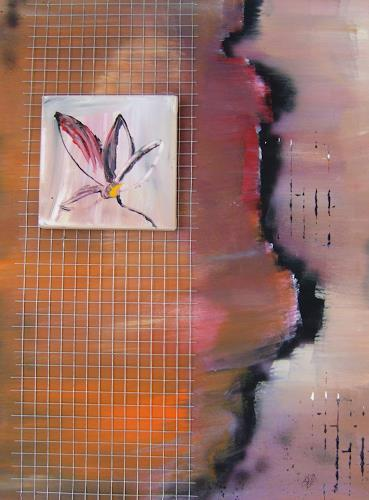 Astrid Strahm, Eden II, Decorative Art, Plants: Flowers, Contemporary Art