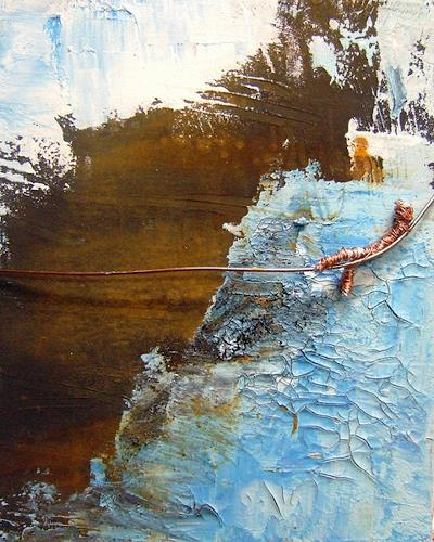 Astrid Strahm, Rusty Sky II, Abstract art, Miscellaneous Emotions, Contemporary Art, Abstract Expressionism