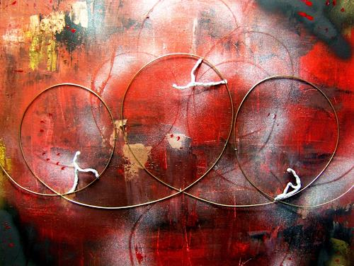 Astrid Strahm, Zyklen, Miscellaneous Emotions, Movement, Contemporary Art