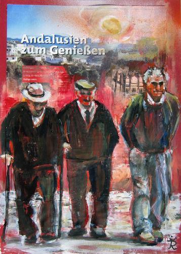 Renée König, Andalusien zum Genießen, People: Group, Society, Modern Age, Abstract Expressionism