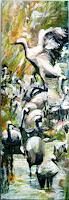 Renee-Koenig-Animals-Water-Landscapes-Autumn-Modern-Age-Expressive-Realism