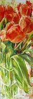 Renee-Koenig-Plants-Flowers-Still-life-Modern-Age-Impressionism-Neo-Impressionism