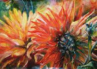 Renee-Koenig-Decorative-Art-Plants-Flowers-Contemporary-Art-Contemporary-Art