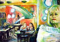 Renee-Koenig-Miscellaneous-People-Situations-Modern-Age-Impressionism-Neo-Impressionism