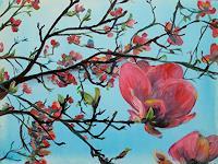 Renee-Koenig-Poetry-Landscapes-Spring-Modern-Age-Impressionism-Neo-Impressionism