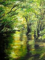 Renee-Koenig-Emotions-Joy-Landscapes-Spring-Modern-Age-Impressionism-Neo-Impressionism