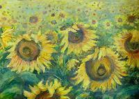 Renee-Koenig-Emotions-Joy-Plants-Flowers-Modern-Age-Abstract-Art