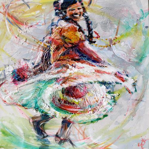 Renée König, Ihr Tag, Movement, Carnival, Contemporary Art, Expressionism