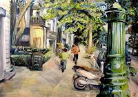Renee-Koenig-Interiors-Cities-Movement-Modern-Age-Impressionism-Neo-Impressionism