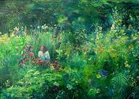 Renee-Koenig-Interiors-Gardens-Plants-Flowers-Modern-Age-Impressionism-Post-Impressionism