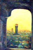 Renee-Koenig-Architecture-Romantic-motifs-Sunset-Contemporary-Art-Contemporary-Art