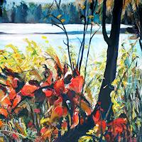 Renee-Koenig-Landscapes-Autumn-Plants-Trees-Contemporary-Art-Contemporary-Art
