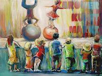 Renee-Koenig-Market-People-Children-Modern-Times-Realism