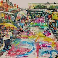 Renee-Koenig-People-Group-Market-Contemporary-Art-Contemporary-Art