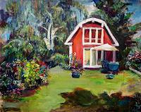 Renee-Koenig-Landscapes-Summer-Emotions-Safety-Modern-Age-Impressionism-Post-Impressionism