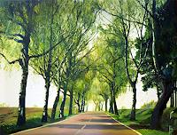 Renee-Koenig-Landscapes-Spring-Plants-Trees-Contemporary-Art-Contemporary-Art