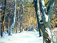 Renee-Koenig-Landscapes-Winter-Plants-Trees-Modern-Times-Realism
