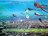 R. König, Drachen übern Tempelhofer Feld