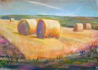 Renee-Koenig-Landscapes-Summer-Harvest-Modern-Times-Realism