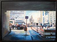 Renee-Koenig-Buildings-Churches-Miscellaneous-Traffic-Modern-Age-Impressionism-Post-Impressionism