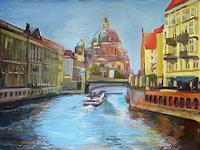 Renee-Koenig-Emotions-Joy-Buildings-Churches-Modern-Age-Impressionism-Post-Impressionism