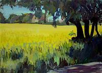 Renee-Koenig-Miscellaneous-Romantic-motifs-Landscapes-Plains-Modern-Age-Impressionism-Post-Impressionism