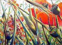 Renee-Koenig-Plants-Flowers-Poetry-Modern-Age-Expressive-Realism