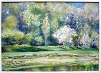 Renee-Koenig-Landscapes-Spring-Landscapes-Plains-Modern-Age-Impressionism-Post-Impressionism