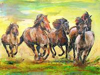 Renee-Koenig-Animals-Land-Miscellaneous-Romantic-motifs-Modern-Age-Expressive-Realism