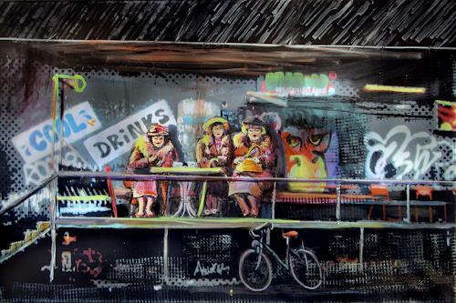Renée König, Cool Drinks, People: Group, Burlesque, Post-Surrealism