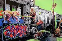 R. König, Graffitis im RAW-Gelände III